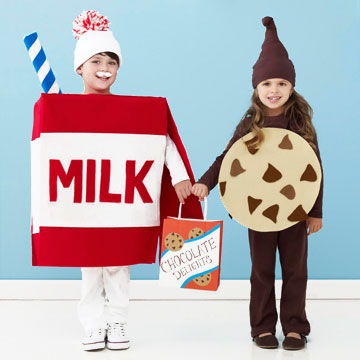 Milk and cookies Halloween costume