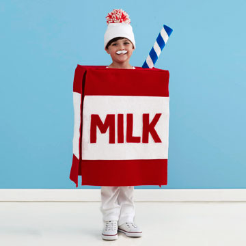 Milk Carton Halloween costume