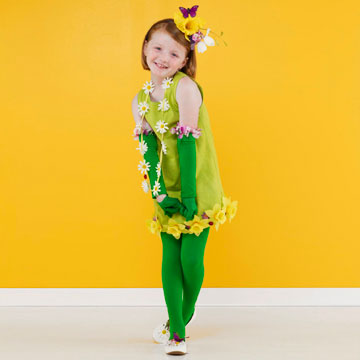 Spring flower Halloween costume
