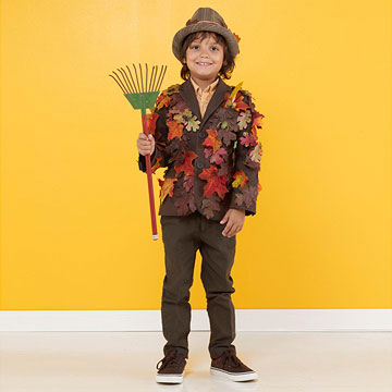 Fall leaves Halloween costume