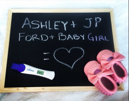 Ashley and JP Rosenbaum gender reveal
