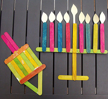 Popsicle Stick Decorations