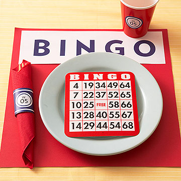 Bingo Place Setting