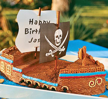 Pirate Bash Cake