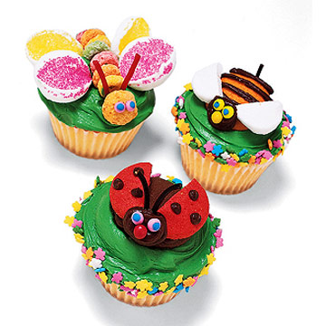 Huggable Bugs Little Critter Cupcakes
