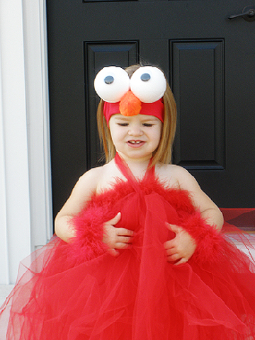 elmo Halloween costume