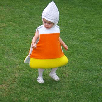 candy corn Halloween costume