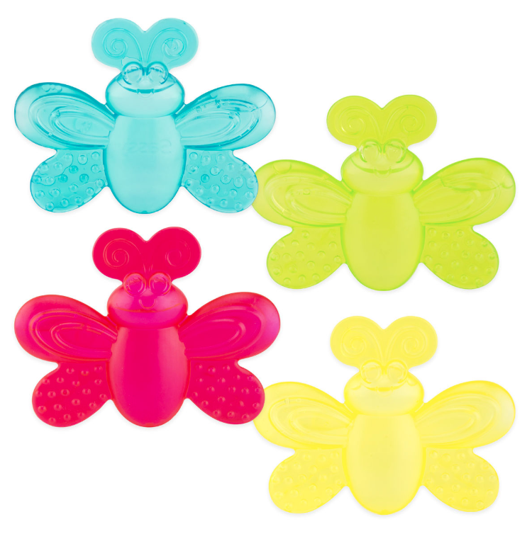 sassy butterfly teethers