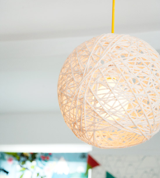 Yarn Light Fixture