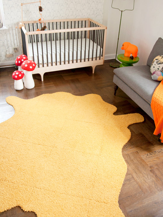 DIY Faux Hide Rug Set