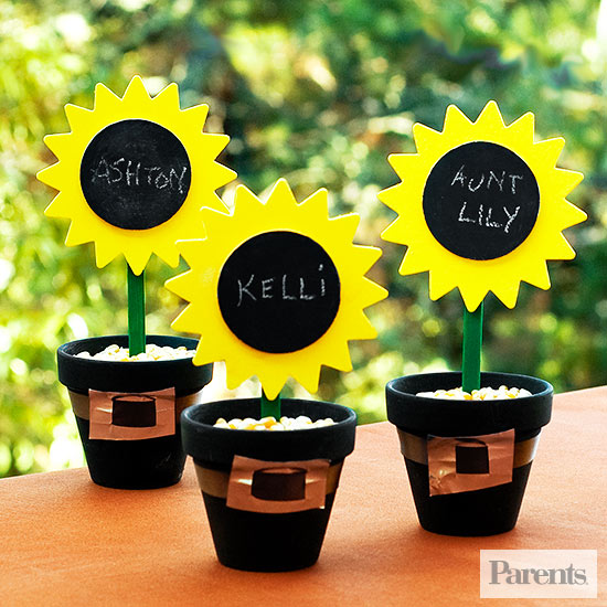 Sunflower Pilgrim Pots