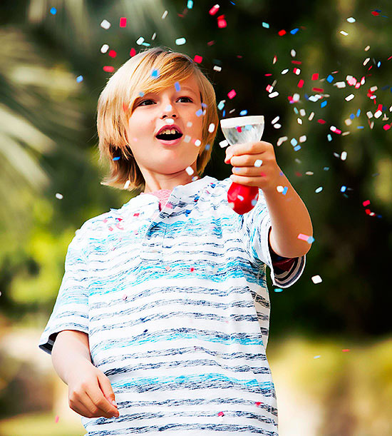 Fourth of July Confetti Popper
