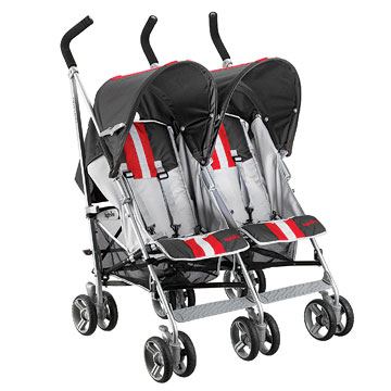 Inglesina, Twinswift, red and black