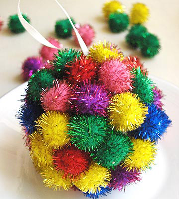 Pom Pom Perfect Ornament