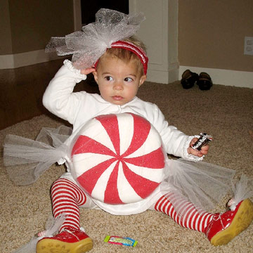 Peppermint Baby Costume