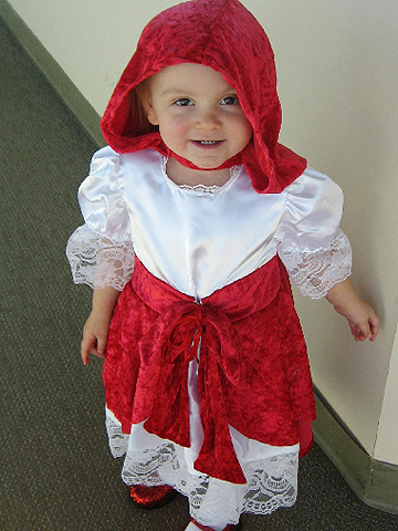 Little Red Riding Hood Halloween costume