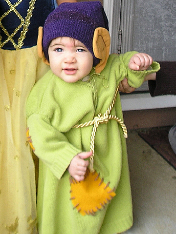 Dopey from Snow White Halloween costume