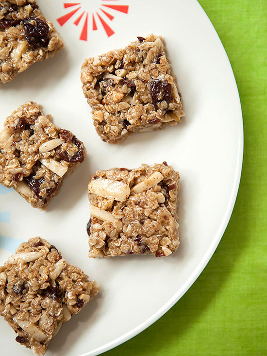 No-Bake Snack: Cherry Almond Granola Bites