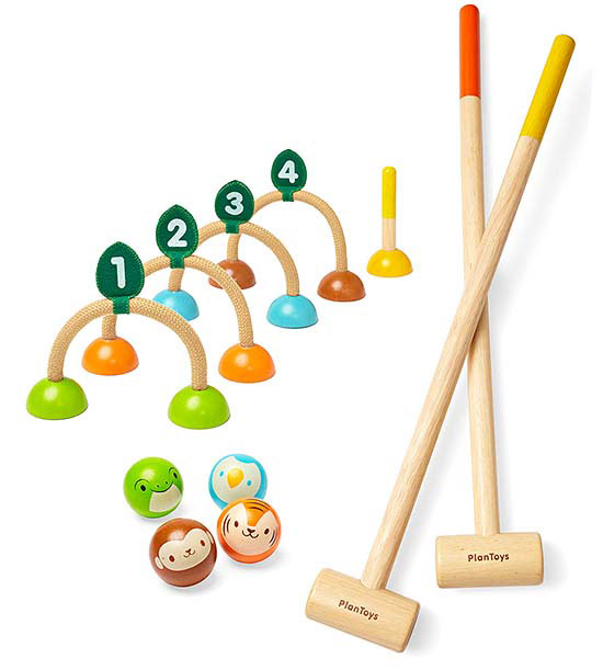 Plan Toys Croquet Set