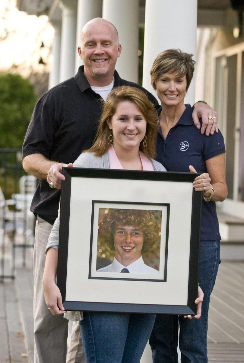 The McDonough Family: The Andrew McDonough B+ Foundation
