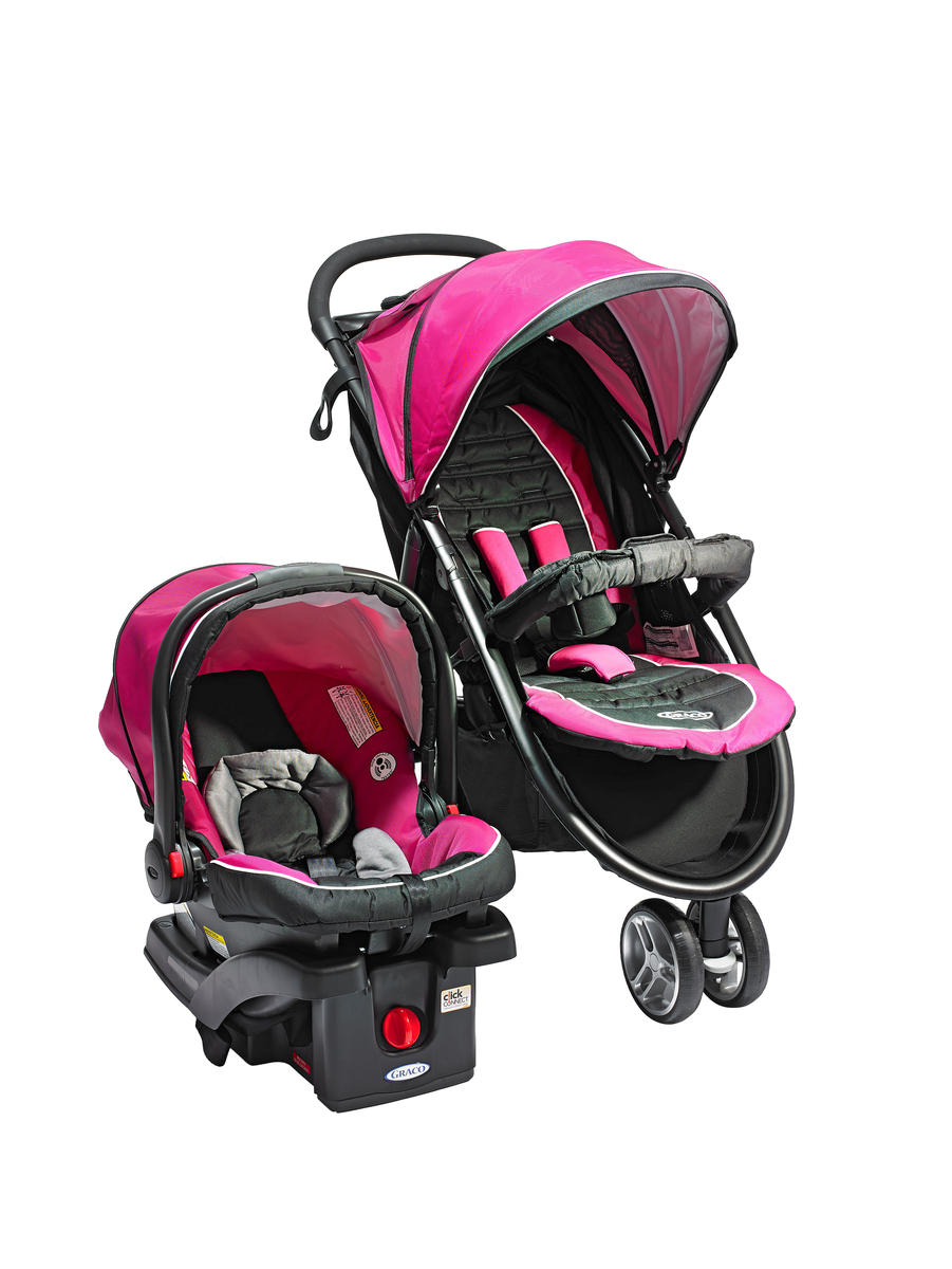 Infant Car Seat and Full-Size Stroller