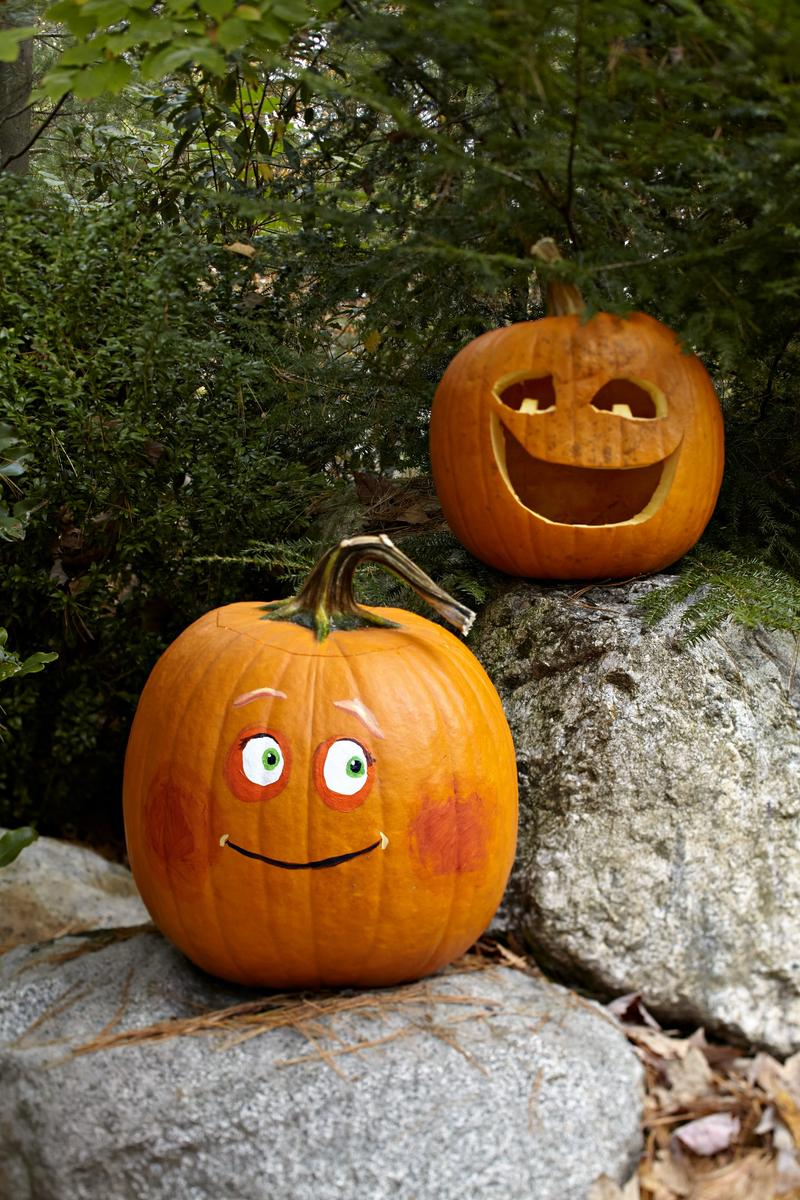 Two-Faced Pumpkins