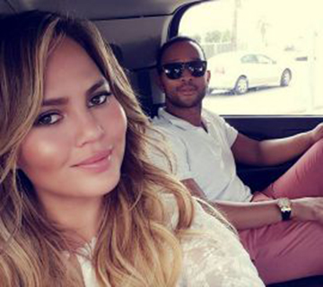chrissy teigen and john legend instagram photo
