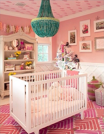Kourtney Kardashian Baby Nursery
