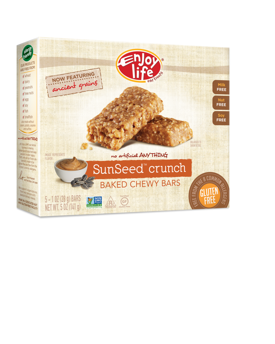 Enjoy Life SunSeed Crunch Chewy Bars