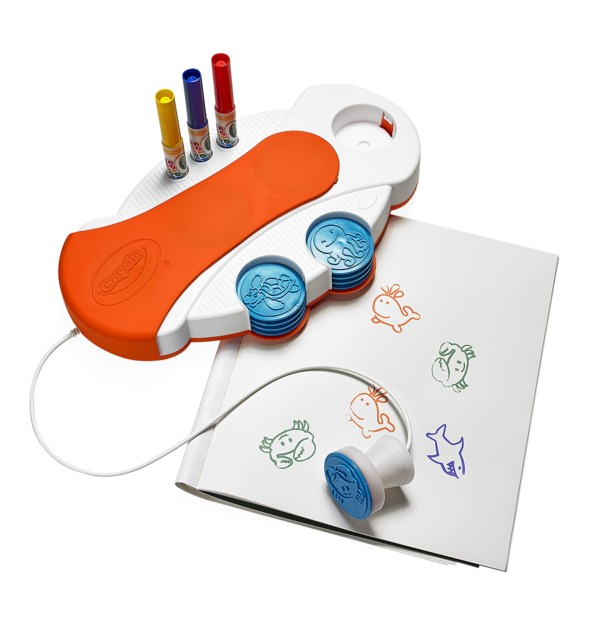 n Crayola Color Wonder Light-Up Stamper