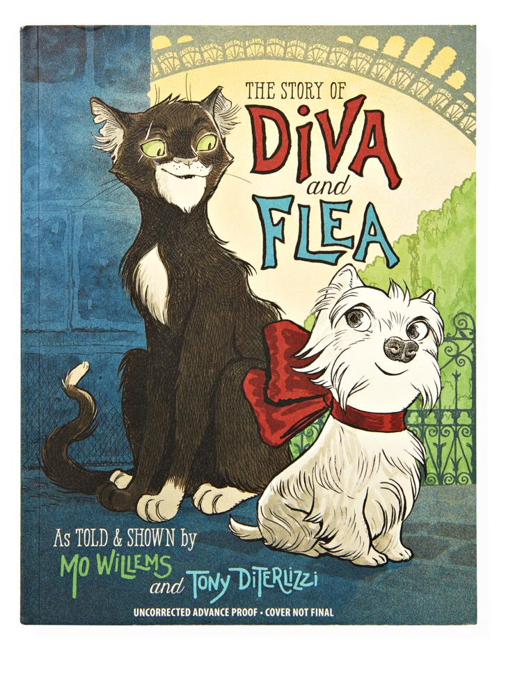 The Story of Diva and the Flea Book