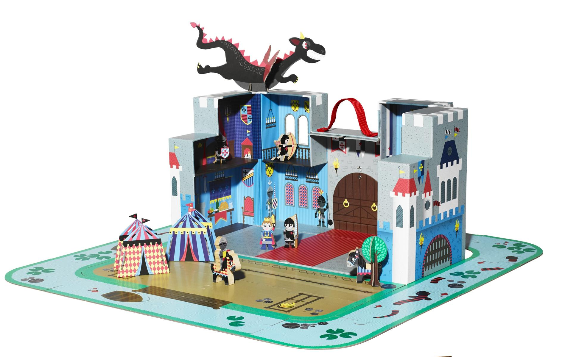 2016 Toys of the Year Janod Fantastic Castle Puzzle Playset