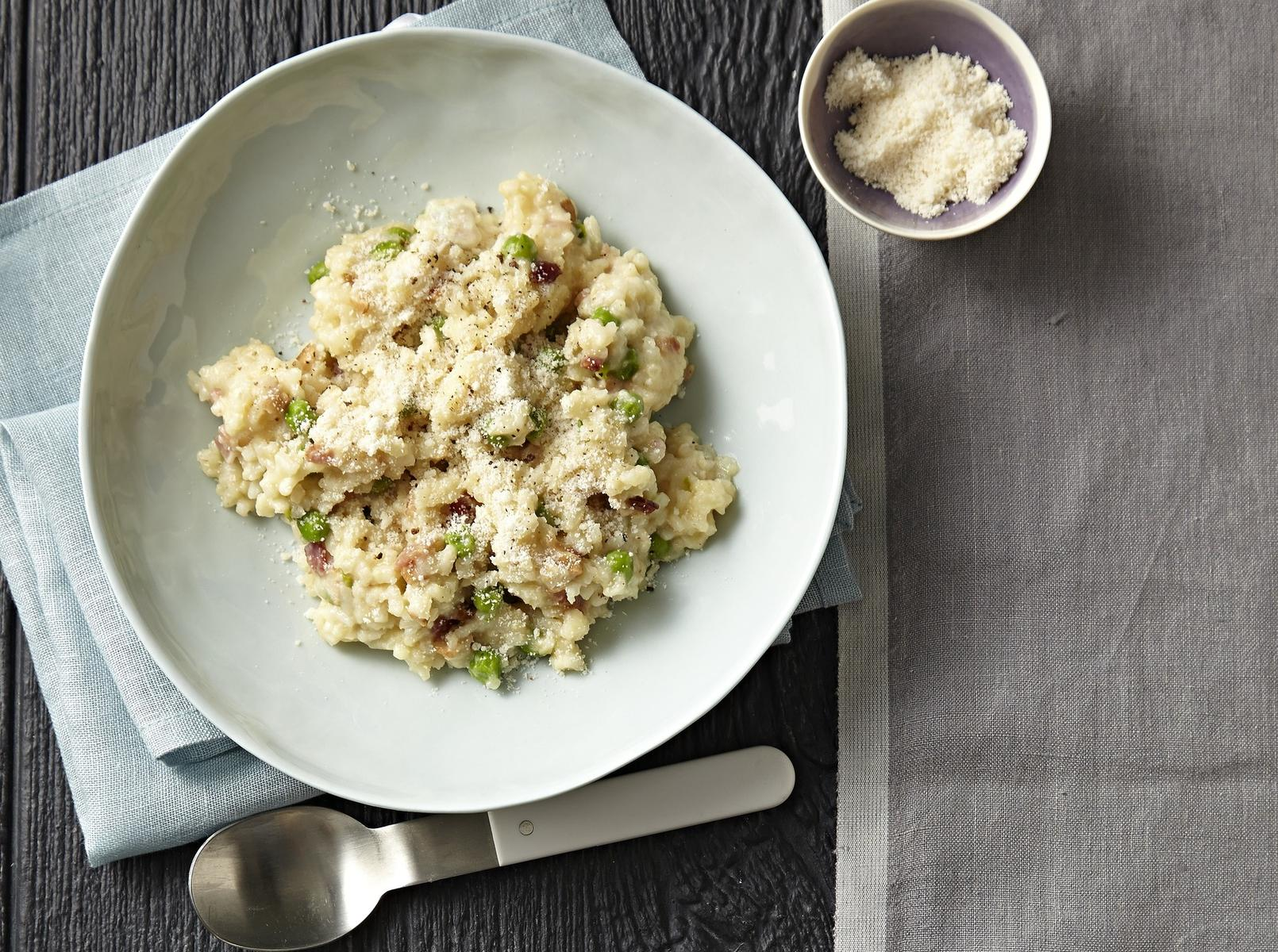 Make It Now: Easy-Peasy Risotto