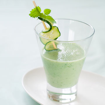 Cucumber-Cantaloupe Cooler Pregnancy Smoothie