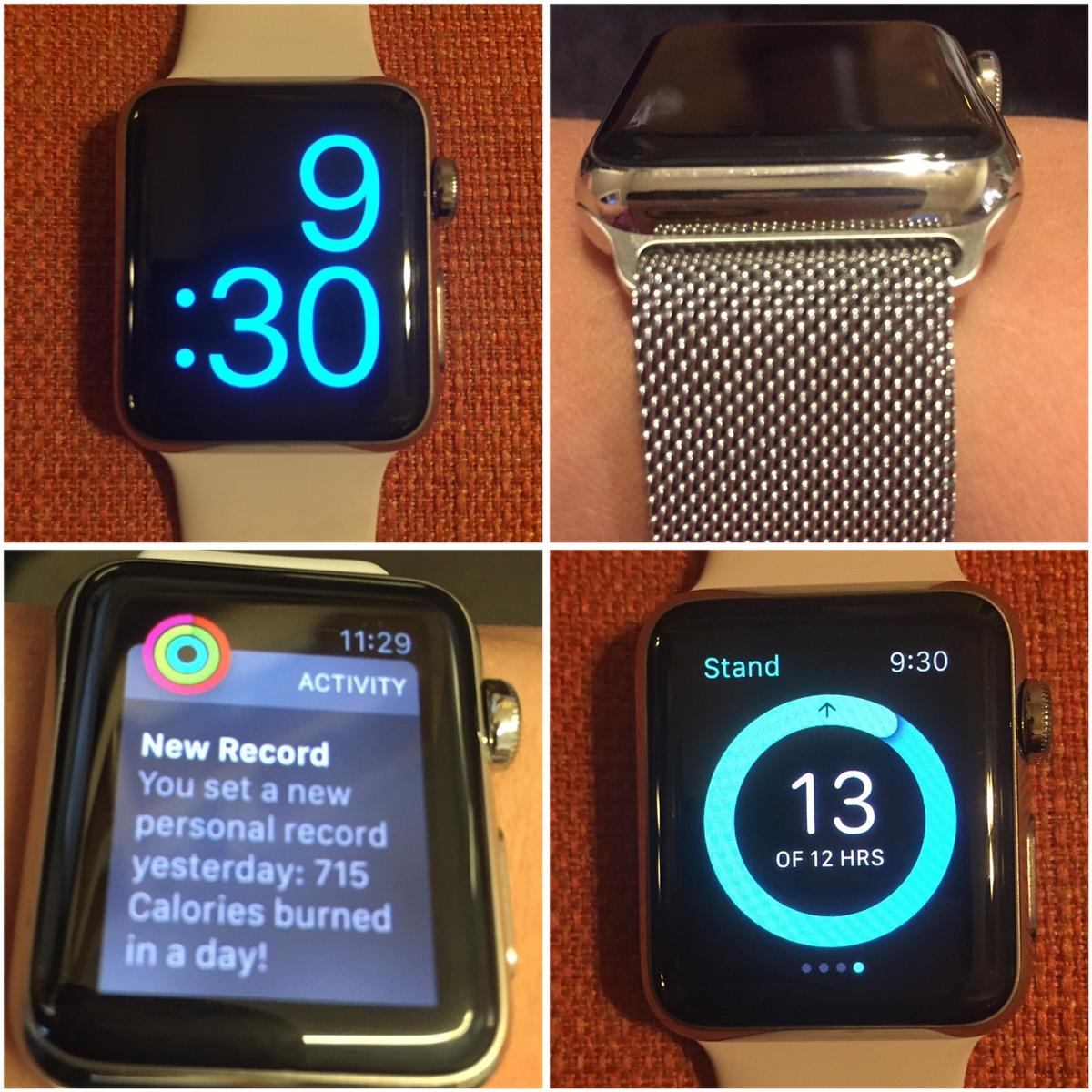 Apple Watch Collage