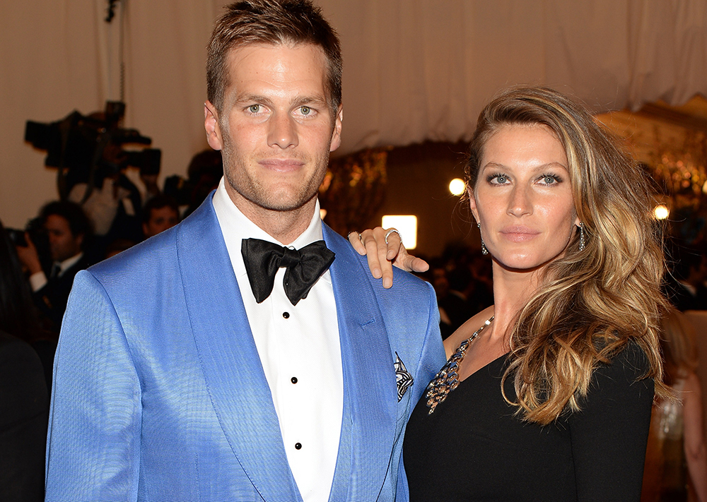 tom brady and gisele bundchen red carpet 2013
