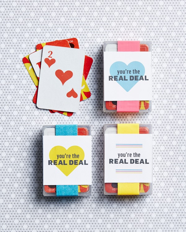 playing cards valentines