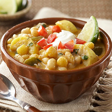Golden Chicken Chili recipe image