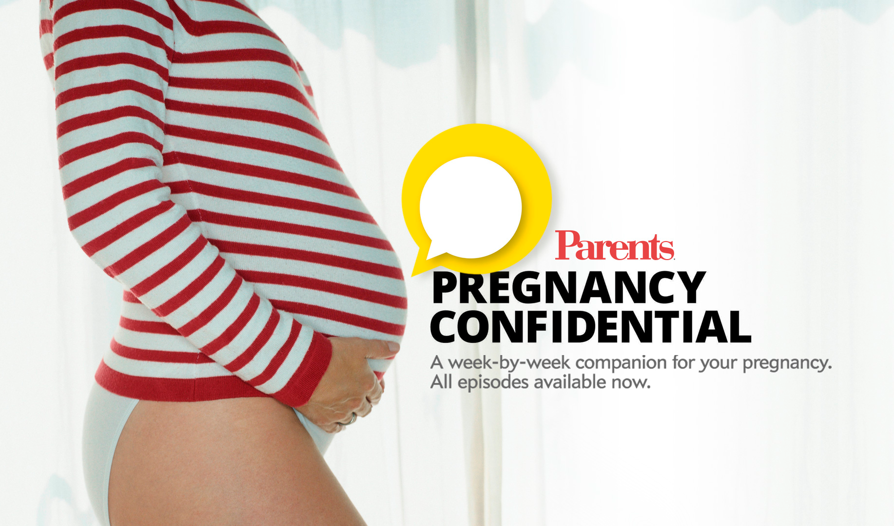 Pregnancy Confidential Banner