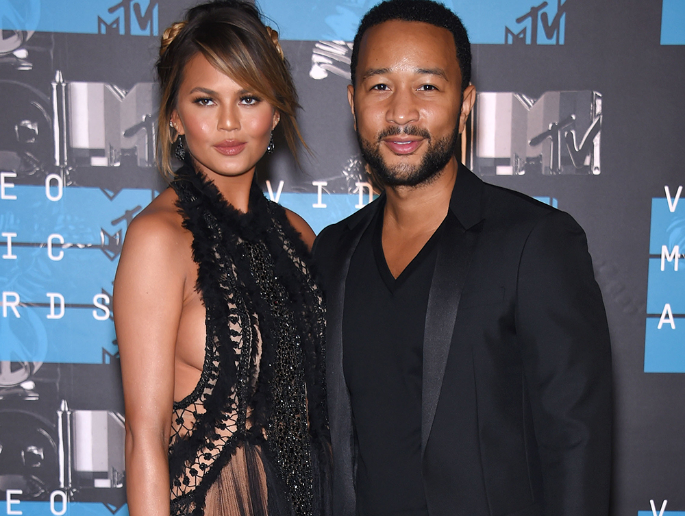 Chrissy Teigen and John Legend MTV Awards 2015