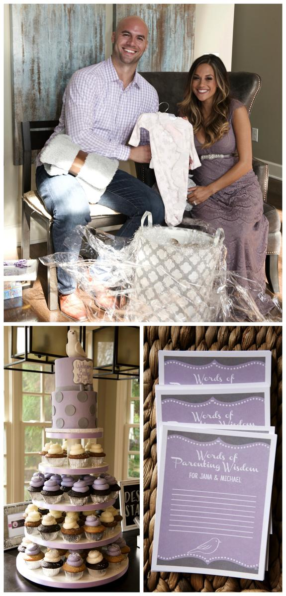 Jana Kramer Baby Shower Collage 2