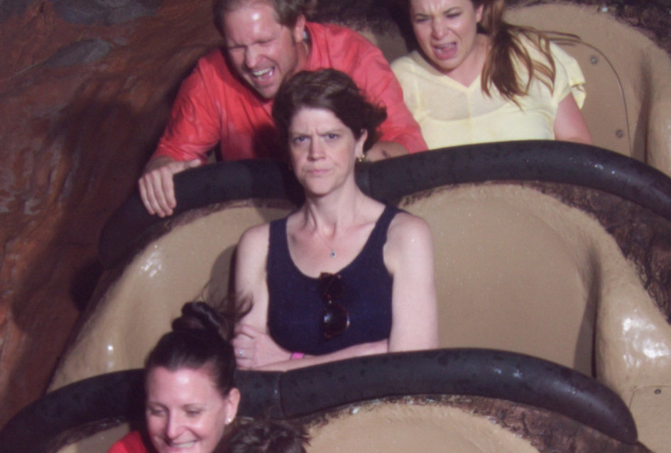 angry Splash Mountain lady