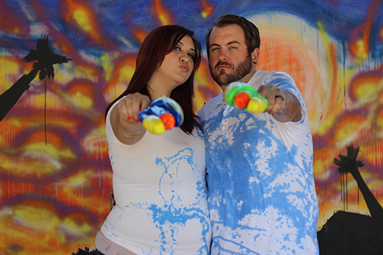 Gender Reveal: Squirt Guns