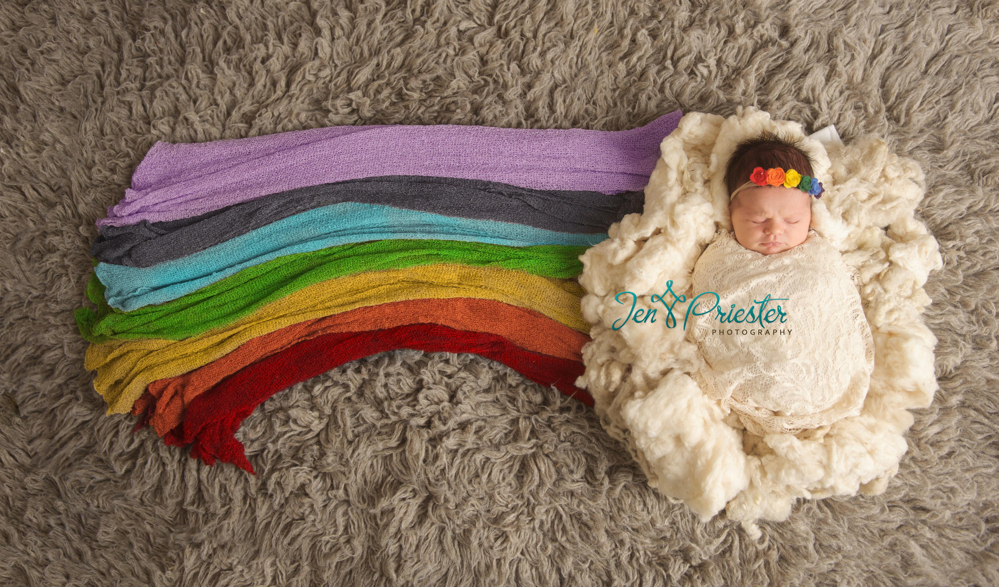 Couple Celebrates Rainbow Baby with Stunning Photo Shoot