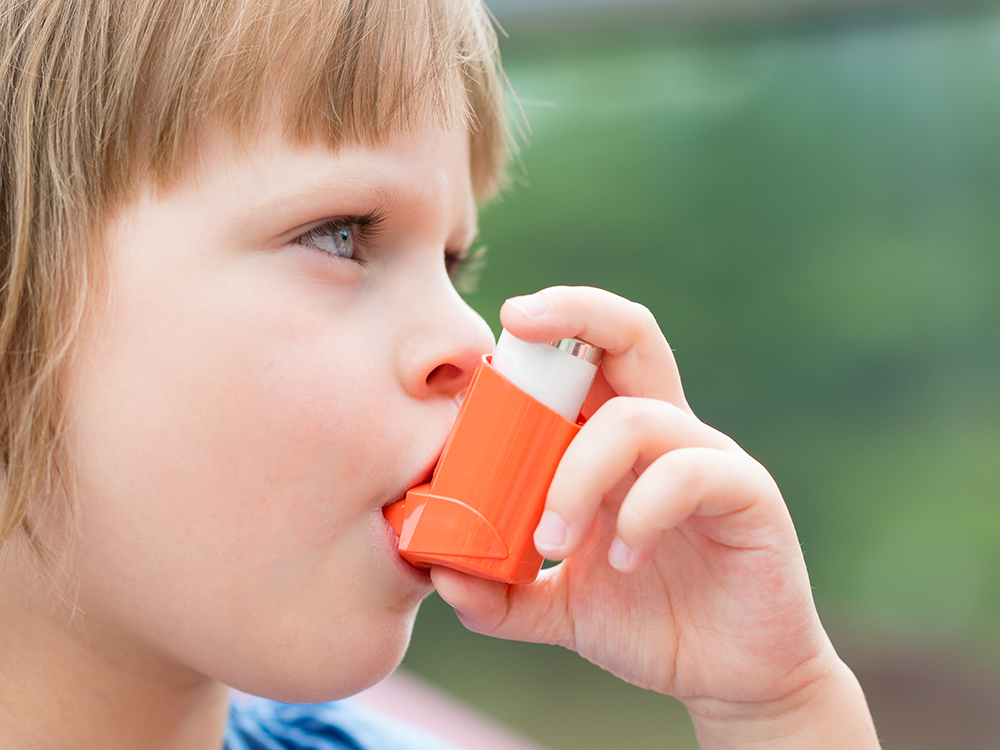 Air pollution still causes lung problems like asthma in children