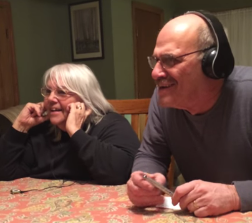 Grandparents play Whisper Challenge to lip-read granddaughter's pregnancy announcement in viral video
