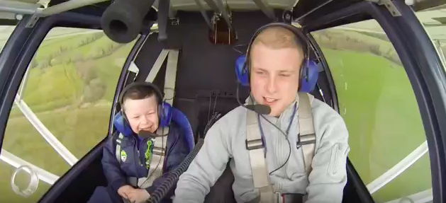 Big brother pilot takes little brother with special needs on the flight of a lifetime.