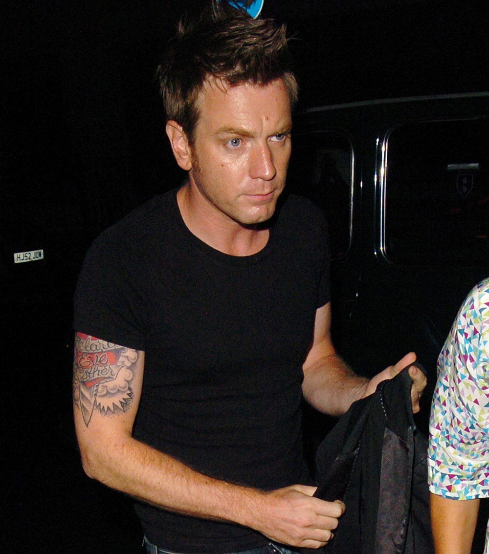 Ewan McGregor tattoo