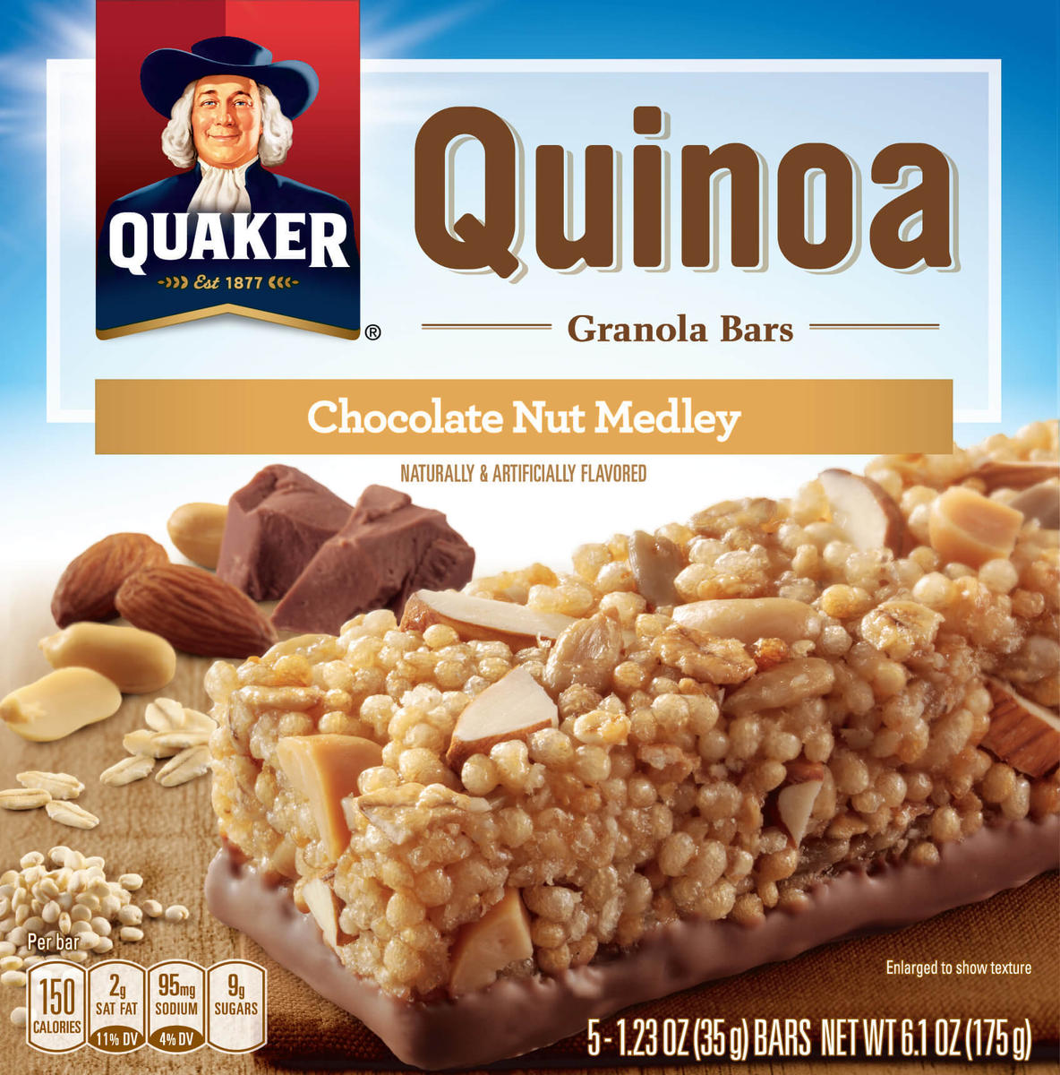 Quaker Oats is recalling quinoa granola bars because of possible listeria contamination.