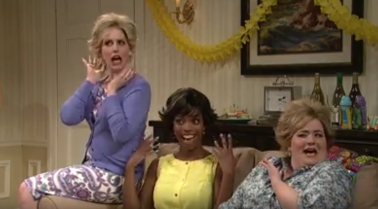 "Saturday Night Live celebrated Mother's Day with a funny sketch about ""the cut"" or hairstyle most moms seem to get."
